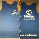 Proteinfutár edzőtrikó, atléta kék