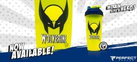 Limitált Perfect Shaker Hero Series Szuperhős Sorozat 800ml Wolverine Farkas