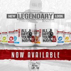 Rich Piana 5% Nutrition All Day You MAY egy komplex all-in formula 465g (10:1:1 BCAA , glutamin, béta-alanin, zsírégetés, ízületvédő komplex)