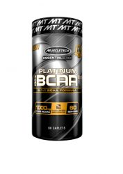 Muscletech Platinum 100% Bcaa 8:1:1 60 db kapszula