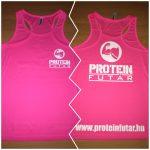 Proteinfutár Női felső trikó atléta Rózsaszín