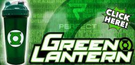 Limitált Perfect Shaker Hero Series Szuperhős Sorozat 800ml Green Lantern Zöld Lámpás