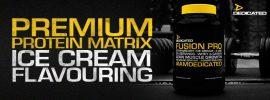 Dedicated Fusion Pro fehérje mátrix 908g (tejsavófehérje-koncentrátum és kazein keverék)