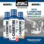 Applied Nutrition L-Karnitin Liquid 3000 & Green Tea zsírégető folyadék 495ml (Adagonként 3000mg Karnitin)
