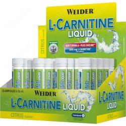 Weider L-Carnitine Liquid 25ml 1800mg karnitinnel Új formula