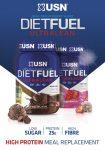 USN Diet Full Ultralean étkezést helyettesítő fehérje por 1kg több ízben (tejsavófehérje-koncentrátum, kálcium kazeinát, szójafehérje izolátum)
