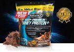 MuscleTech 100% Premium Whey Protein Plus prémium fehérje keverék 2,72kg (tejsavó fehérje koncentrátum, izolátum ,hidrolizált tejsavó koncentrátum)