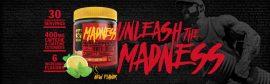 Mutant Madness 225g edzés előtti stimuláns bedurrantó por több ízben 30 adagos kiszerelés!