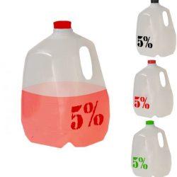 Rich Piana 5 % Hidrátor kancsó italhordó vizes palack 1 gallon=3,78 liter