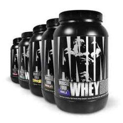 Universal Animal Whey fehérje tejsavó-izolátum és koncentrátum keverék 945g (7x135g)