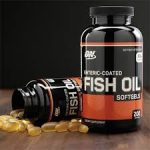 OPTIMUM NUTRITION - ENTERIC-COATED FISH OIL SOFTGELS Halolaj Omega 3 kapszula 200db higanytól és hal utóíztől mentes