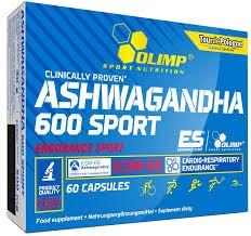 Olimp Nutrition Ashwagandha 600 – 60 kapszula idegrendszer és vitalitás támogatás, stressz ellen