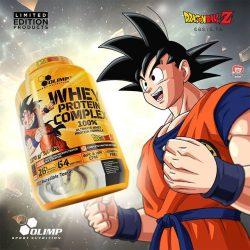 Olimp Dragon Ball Whey Protein Complex 100% tejsavó Fehérje 700g Limited Edition (tejsavó koncentrátum és izolátum keveréke)