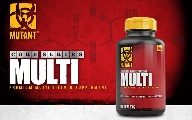 Mutant Core Series Multi prémium Multivitamin tabletta 60db