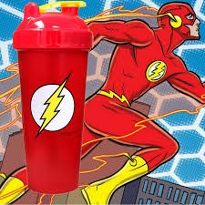 Limitált Perfect Shaker Hero Series Szuperhős Sorozat 800ml Flash Villám
