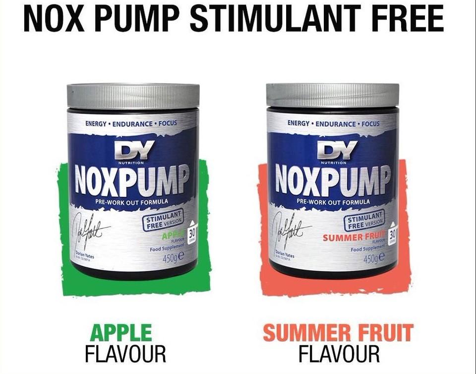 Dorian Yates NoXpump Nox Pump stimulánsmentes Edzés előtti, bedurrantó 15g tasak