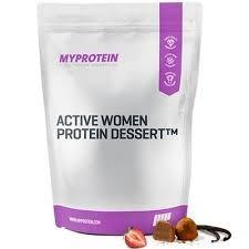 Active Women Protein Dessert diétás prémium fehérje desszert nassolnivaló Enzimkomplexxel