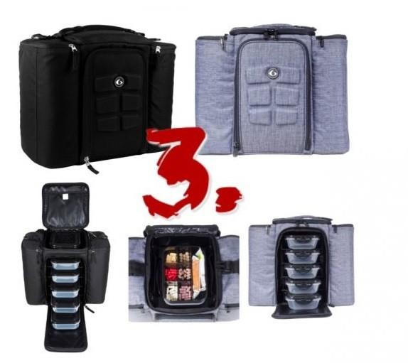 Six Pack Fitness Innovator 500 modern ételhordó táska munkába edzőterembe