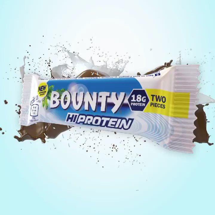 Bounty protein fehérje szelet 1db (1x51g)